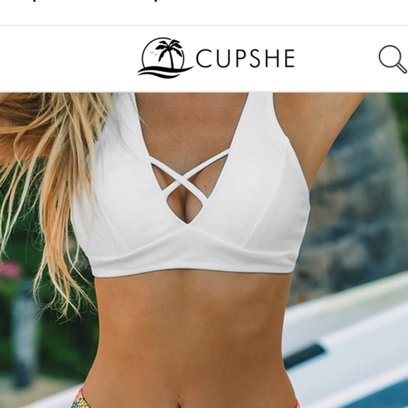 Cupshe Other - Cupshe Bathing Suit TOP